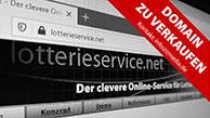 Domain lotterieservice.net zu verkaufen