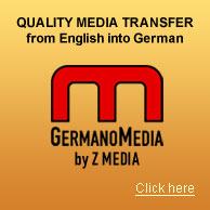 Quality Media Transfer from English into German
