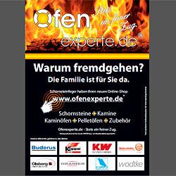 """Anzeige von Ofenexperte.de in """"Schornsteinfegerhandwerk"""""""