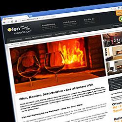 Website der enditec GmbH