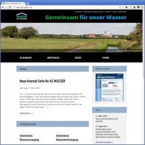 AG WASSER Homepage