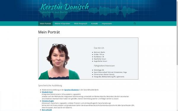 Humorvoll, professionell und weltoffen - so präsentiert sich Kerstin Danisch.
